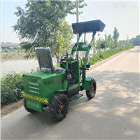 廠家出售工地小鏟車  工地電動裝載機
